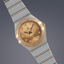 Omega Constellation Ladies steel and gold quartz watch FULL SET