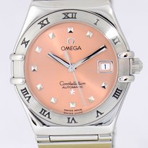 Omega Constellation Automatic Lady My Choice Dresswatch Lachs...