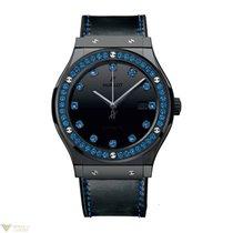 Hublot Classic Fusion Automatic Shiny Ceramic Blue Ladies Watch