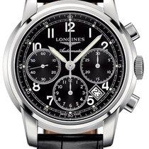 Longines The Saint-Imier 41mm L2.752.4.53.3 Steel Chronograph...