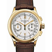 Patek Philippe 5170 gold chronograph 39mm watch and papers