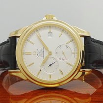 Omega De Ville Co-Axial Power Reserve Automatic 750 Gold -...