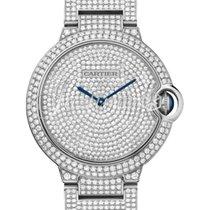Cartier HPI00581 BALLON BLUE DE 36mm WHITE GOLD 2017