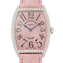 Franck Muller New  Cintree Curvex Stainless Steel With...