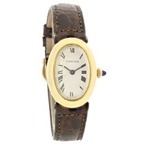 Cartier Baignoire Ladies 18K Gold Swiss Manual Wind Watch 7743-1
