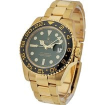 Rolex Used 116718 GMT Master 2 with Green Dial