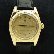 Rolex Ovetto Bubble Back in Yellow Gold