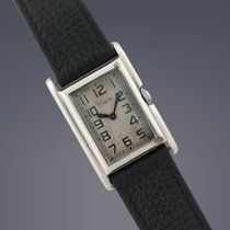 Elgin 14ct white gold manual watch