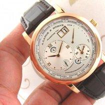 A. Lange & Söhne 1 Time Zone ref 116.032 18K Rose Gold