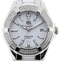 TAG Heuer Aquaracer 35 Gemstone White Ceramic