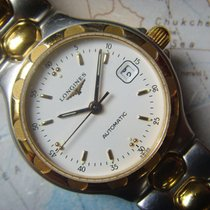 Longines Steel & 18K Gold Ladies Automatic Box Papers