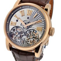 Roger Dubuis Hommage Double Flying Tourbillon in Rose Gold
