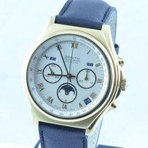 Zenith Academy Herren Uhr Automatik 18k 750 Gold Vollkalender...
