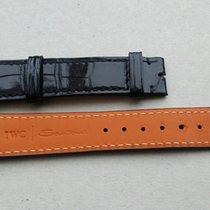 IWC Santoni 18/16mm Black Strap