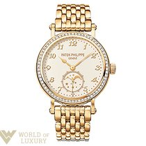 Patek Philippe Complications 33mm Yellow Gold and Diamonds...