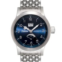 Tutima Valeo Reserve Big Date Automatic Men's Watch – 644-04