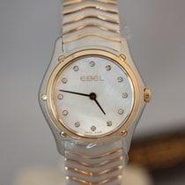Ebel Classic Wave Lady Perlmutt Diamanten 27,5mm Quarz NEU