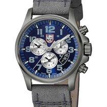 Luminox Mens Atacama Alarm Chrono Date Watch - Blue Dial -...