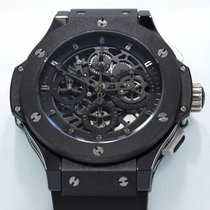 Hublot Aero Bang Limited Chrono Skeleton Black Ceramic B/paper...