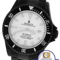 Rolex Sea-Dweller 'Triple Six' 16660 Black PVD Coated...