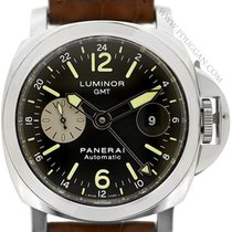 Panerai stainless steel Luminor GMT