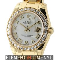 Rolex Datejust Special Edition 34mm Masterpiece 18k Yellow...