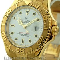 Rolex Yacht-Master 18k Yellow Gold Ivory Dial 40mm  Ref. 16628