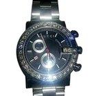 Gucci Diamond and Stainless Steel Chronograph Quartz Wristwatch