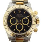 Rolex 18k yellow gold and stainless steel Daytona model 16523