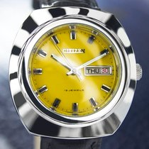 Citizen Vintage Day Date Manual Wind, Yellow Dial