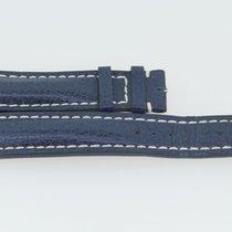 Breitling Kalbslederband 20/18 Länge 115/75 Blau