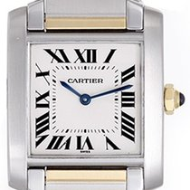 Cartier Tank Francaise Men's/Ladies Midsize 2-Tone Steel...
