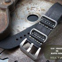Panerai 26mm PAM183 Radiomir Leather ZULU Strap, Black