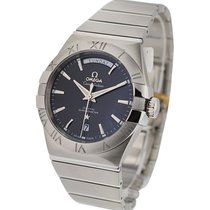 Omega Constellation Day Date Men's Automatic in Steel