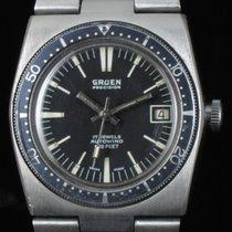 Gruen Precision Date Steel Automatic