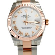 Rolex 178271 DateJust Stainless Steel & Rose Gold Oyster...
