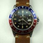 Rolex GMT 1675 stainless steel c.1966 original gilt dail