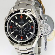 Omega Seamaster Planet Ocean Stainless Steel Black Dial Mens...