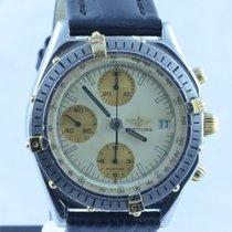 Breitling Chronomat Herren Uhr Stahl/gold 39mm Chronograph Creme
