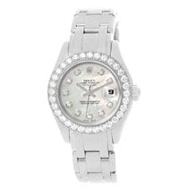 Rolex Pearlmaster Masterpiece 80299 White Gold Watch