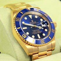 Rolex Submariner 116618 18k Yellow Gold Ceramic Bezel Watch 2014
