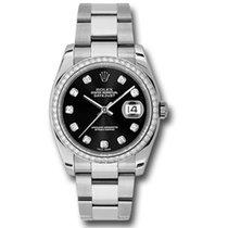 Rolex Datejust 36mm - Steel White Gold Diamond Bezel - Jubilee