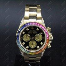 Rolex Daytona - aftermarket Rainbow - Diamonds