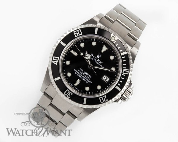 Rolex Oyster Perpetual Sea Dweller - Ref 16600 Z - Purchased Circa 2009 - 40mm Stainless Steel - Discontinued Model - Boxes/Booklets & Carefully Worn