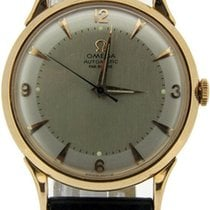 Omega Automatic Bumper Movement 18ct Rose Gold Watch Case...