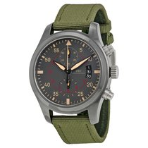 IWC Men's IW388002 Pilots Anthracite Dial Chronograph Watch