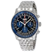 Breitling Navitimer 01 Limited Blue Edition Stainless Steel...