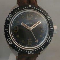 RAKETA rare vintage diving watch screwed crown