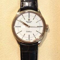 Rolex Cellini 50505 White Dial, Rose Gold