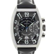 Franck Muller Casablanca Black Dial Steel Chronograph